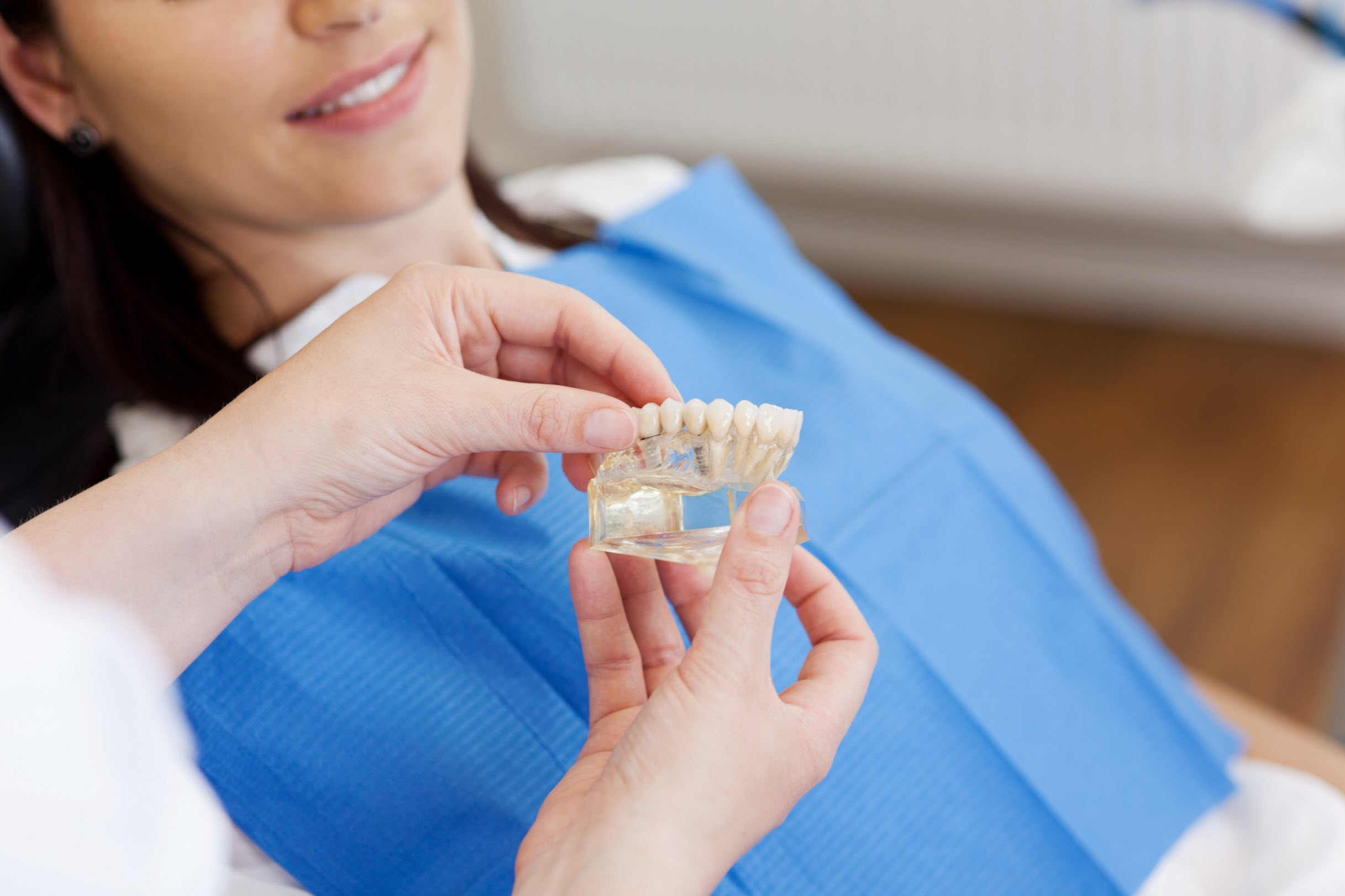 Surgical denture procedure