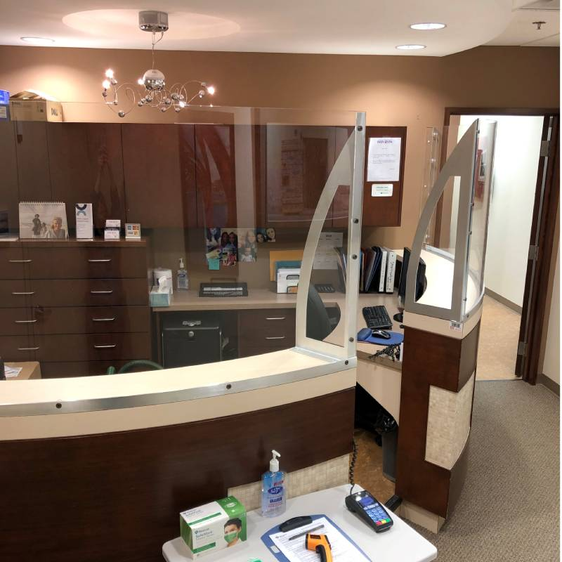 dental clinic interior view